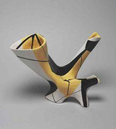 Antonia Campi; Glazed Ceramic Vessel, c1960.