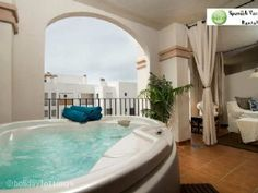 Enjoy a meal on the terrace, or relax away in the Spa Mijas with a Jucuzzi!! Bit further away from the airport 30km