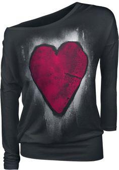 EMP Full Volume Heart Of Stone http://emp.me/C2a EMP Online España • Tienda Rock, Heavy Metal, Gótica y Alternativa #Heart #Corazon #Mujer #RockFashion #EmpFullVolume