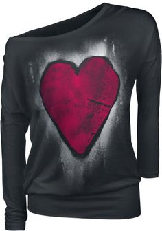 EMP Full Volume Heart Of Stone http://emp.me/C2a EMP Online España • Tienda Rock, Heavy Metal, Gótica y Alternativa #Heart #Corazon #Mujer #RockFashion #EmpFullVolume