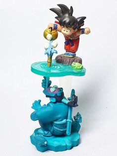 Dragon Ball Z JAPAN Megahouse Bandai Gashapon Capsule Figure : Kid Son Goku