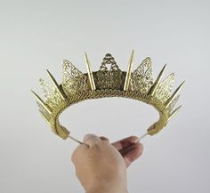 Handmade Crystal-Studded Crowns Are An Actual Thing