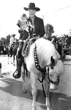 Hopalong Cassidy....loved him
