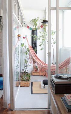 Der Balkon - unser kleines Wohnzimmer im Sommer