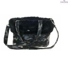 Daiquiri #dogbag Felt of wool and nylon, plush and faux fur, camouflage  design | Borsa a tracolla per cani con fantasia mimetica | Feltro di lana e  nylon, ...
