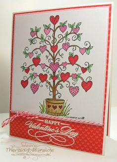 Valentine's Day - Northwood's Heart Tree by Theresa Winslow 1-29-12