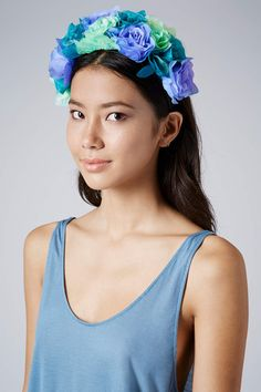 Festival Fashion for Mums and Kids - Oversized Rose Headband Topshop Festival fashion