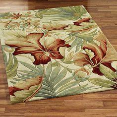 Paradise Foliage Area Rugs love this rug!