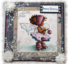 Color of Happy: Snowy Greetings