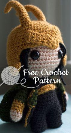 Loki, God of Mischief [CROCHET FREE PATTERNS] - All About Crochet