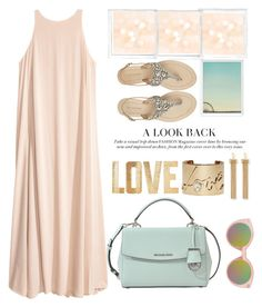 """love color pastel "" by licethfashion ❤ liked on Polyvore featuring Topshop, MICHAEL Michael Kors, Chloé, Antik Batik, Lanvin, PBteen and Polaroid"