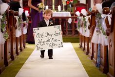 The greatest Ring bearer ever! My favorite nephew!!!