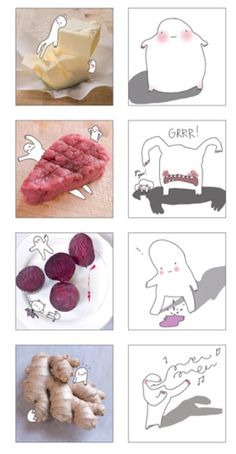 "Marije Vogelzang is an author of the successful ""Eat Love book"" and she adds a great memory game to her collection : "" You Are What You Eat "".  In the memory game, the task is to find sets of corresponding cards and correctly matching a food to its effect on our body.  Beautifully photographed and with funny illustrations by Marije, it is looking like great toy to have - Funny and educative!"