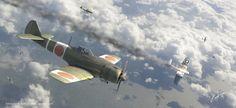 Japans Greatest Hawks - Ki-84 Frank by rOEN911 on deviantART