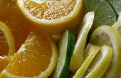 Orange and lime for face