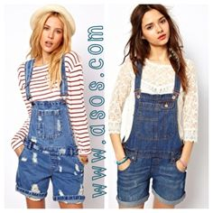 how to style overall shorts - Google Search