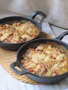 Gratin d'endives Mariette – Page 2 Endive Recipes, Veggie Recipes, Healthy Dinner Recipes, Crockpot Recipes, Diet Recipes, Batch Cooking, Healthy Cooking, My Best Recipe, Good Food