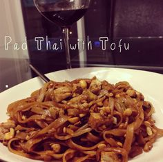 Delicious (step-by-step) Pad Thai with Tofu