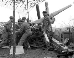 Gunners of the Royal Canadian Artillery bring their BL inch Medium Field Gun into action in the Netherlands, April Canadian Horse, Canadian Soldiers, Canadian Army, Us Military Branches, Ww2 Photos, North Africa, World War Two, Wwii, Armies