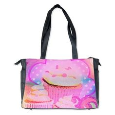 Cupcakes Covered in Sparkly Sugar Diaper Bag
