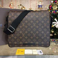 Louis Vuitton M40934 District MM Messenger Bag Monogram Canvas 1eef096c92117