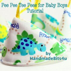 Download Pee Pee Tee Pees for Baby Boys Sewing Pattern | Sewing Patterns | YouCanMakeThis.com