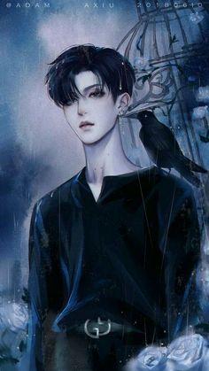 Please visit our website to support us! Manga Anime, Manga Boy, Anime Chibi, Hot Anime Boy, Cute Anime Guys, I Love Anime, Anime Boys, Boy Drawing, 3d Fantasy