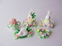 Dollhouse easter. Miniatures by Fizzy