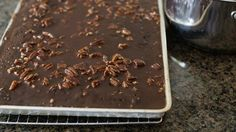 Texas Sheet Cake is a recipe that is passed down from generation to generation—for good reason!