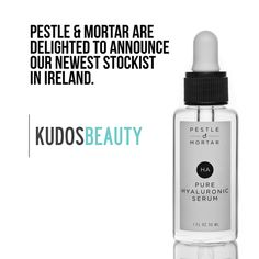 Arnotts located in Dublin City are proud stockists of Pestle & Mortar Cosmetics Hyaluronic Serum, Dublin City, Skin Care, Cosmetics, Pure Products, Bottle, Beautiful, Beauty, Beauty Products