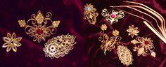 Krüllarbeiten, Goldarbeiten, Fatschenkindl, Sturzgläser, Klosterarbeiten Quilling, Jewelry Art, Brooch, Altar, Crochet, Gold, Christmas, Flowers, Papercraft