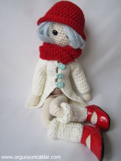 Amigurumi Winter Doll Pattern. $8.00, via Etsy.  ONCE I LEARN HOW TO CROCHET I WILL MAKE THIS FOR BEE