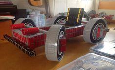 Holandês cria kart de verdade produzido com peças de Lego