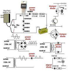 transistor connections electronics pinterest electronics rh pinterest com au electronic circuit diagram components symbols electronic components circuit diagram
