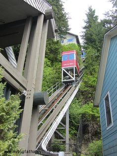 What to do in Ketchikan, Alaska Disney Wonder Cruise Disney Cruise Line Funicular | mybigfathappylife.com