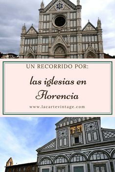 A guide to the most famous churches in Florence - La Carte Vintage Travel Around The World, Around The Worlds, Magic City, Italy Travel, Italy Trip, Toscana, Florence Italy, Culture Travel, Travel Guides
