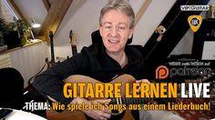 """Wie spiele ich Songs aus einem Liederbuch - Beispiel """"Das Ding 1"""" Gitarr..."""