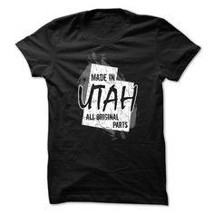 Utah t-shirt - Made in Utah T Shirt, Hoodie, Sweatshirt