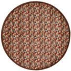 Somerset Multi 5 ft. 6 in. x 5 ft. 6 in. Round Area Rug