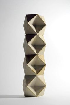 Richard Sweeney - Modules 2010 Slipcast white earthenware (UK)