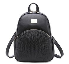 new fashion criss-cross solid package high quality women preppy style rucksack ladies shopping travel bags joker party backpack Fashion Bags, New Fashion, Fashion Backpack, Ladies Fashion, Leather School Backpack, New Mode, Travel Bags For Women, Backpack Bags, Mini Backpack