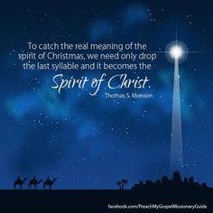 ✰☆ The Spirit of Christmas -mas = The Spirit of Christ ☆✰
