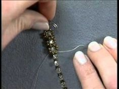 Beading Lesson with Beadalon® - Embellishing Crystal Cup Chain