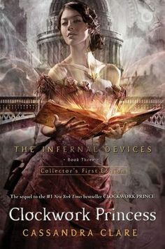 Booktopia has Clockwork Princess, Infernal Devices: Book 3 by Cassandra Clare. Buy a discounted Paperback of Clockwork Princess online from Australia's leading online bookstore. Clockwork Princess, Ya Books, I Love Books, Good Books, Books To Read, Amazing Books, Amazing Movies, Livros Cassandra Clare, Cassandra Clare Books
