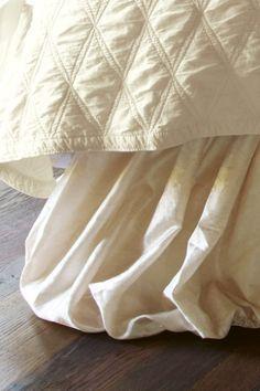 Balloon Bedskirt - Bedding Ensembles, Luxurious Bed Skirts | Soft Surroundings