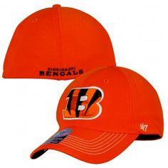 Cincinnati Bengals NFL Game Time Close Hat (Orange)