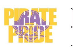 Pirate Pride Knockout Font DXF EPS SVG Cricut Graphtec Silhouette Cutting file