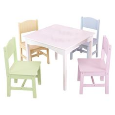 $129.89  Nantucket 5-pc. Toddler Furniture Set  bought a used tbl set, will refinish to look similar to this for a total of $40!