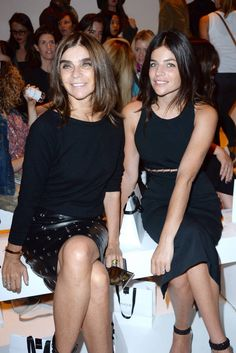 Who's gracing the front rows of Paris Fashion Week? All the 411 here: