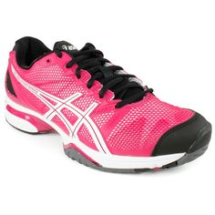 Women`s Gel Solution Speed Tennis Shoes- Oh I like these a lot too! Tennis Workout, Workout Shoes, Workout Wear, Tennis Fashion, Sport Fashion, Tennis Sneakers, Shoes Tennis, Tennis Gear, Holiday Shoes